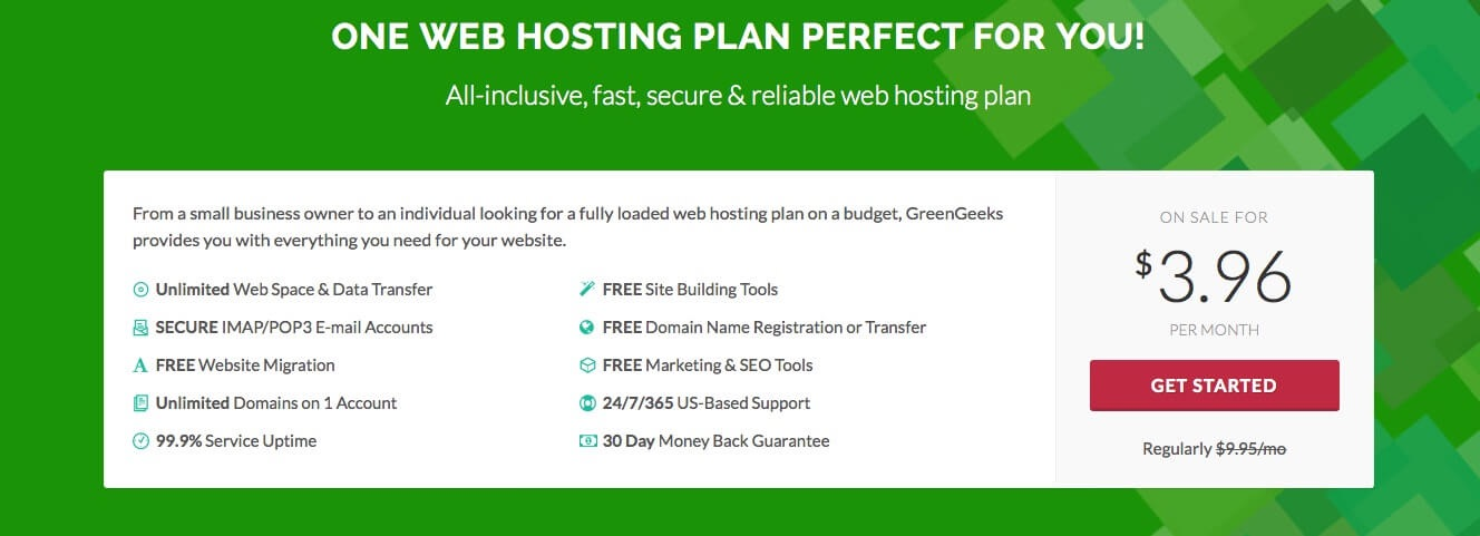 ListWP Business Directory GreenGeeks WordPress Hosting - Start Fresh – 10 Most Reliable Options To Host Your WordPress Site