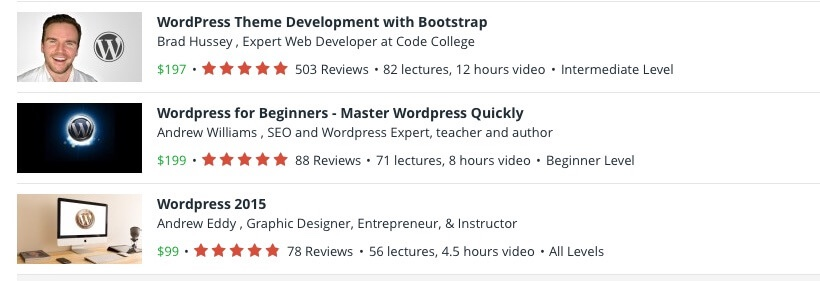 ListWP Business Directory Udemy WordPress Tutorials - Learn EVERYTHING About WordPress With These Top Tutorial Sites