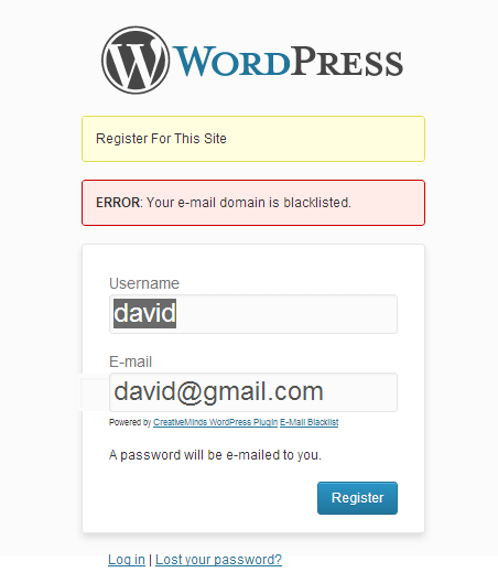 Email Blacklist Plugin - Protect Your WordPress Site With These Safe WordPress Security Tools