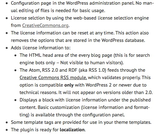 ListWP Business Directory Creative Commons Configurator WordPress_Plugin___G-Loaded_Journal WordPress Legal