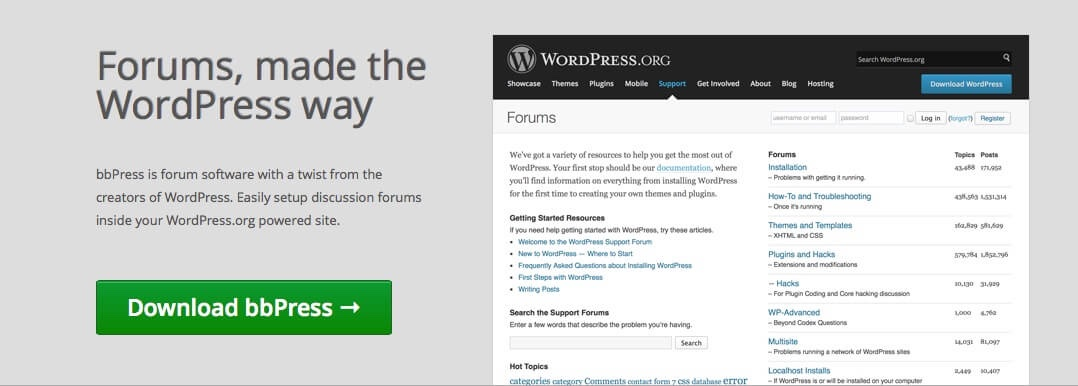 ListWP Business Directory bbPress - Top WordPress Support Options To Make Your WP Installation Pristine
