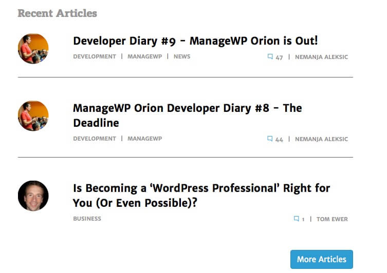 ManageWP Business Directory ListWP Blogs
