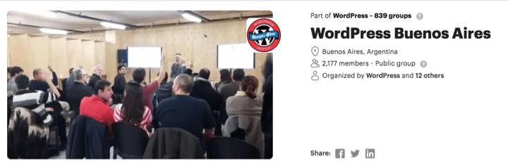 Wordpress Buenos Aires - Top 10 WordPress Communities Around the World To Share Knowledge