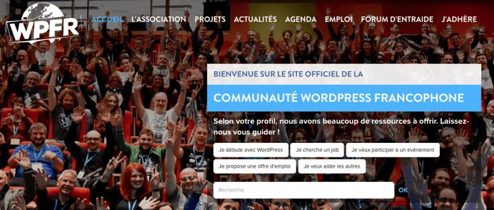 WPFancofone - WordPress Francophone - Top 10 WordPress Communities Around the World To Share Knowledge