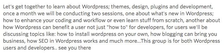ListWP Business Directory WordPress Cairo Meetup WordPress Communities