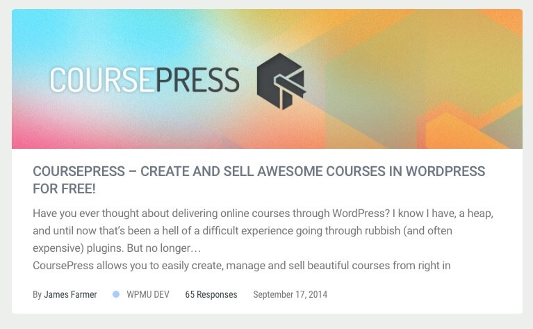 Coursepress listwp business directory - CoursePress - Create The Ultimate LMS With These Crafty WordPress Plugins for E-Learning