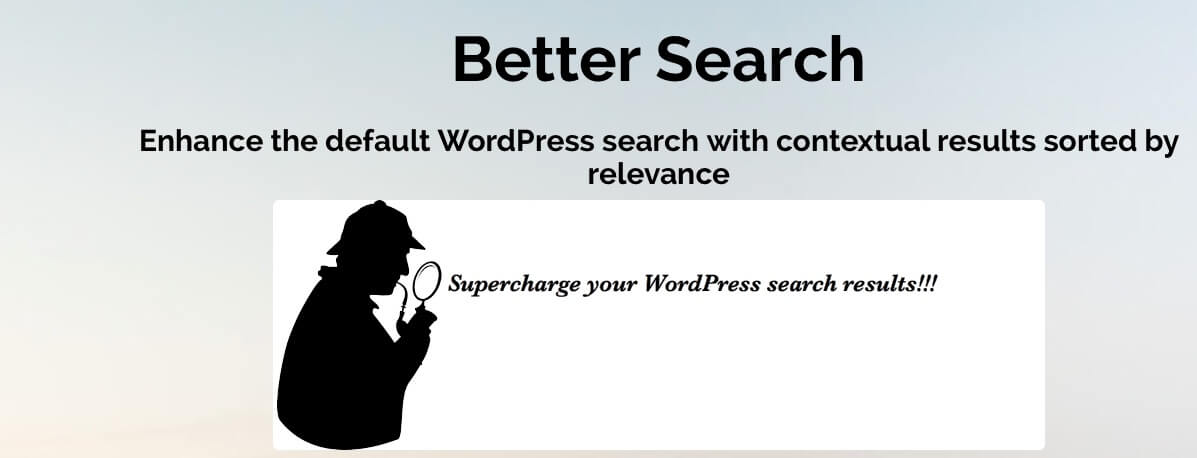 Better Search WebberZone ListWP Business Directory - Best WordPress Search Plugins To Help Users And Decrease Bounce Rate