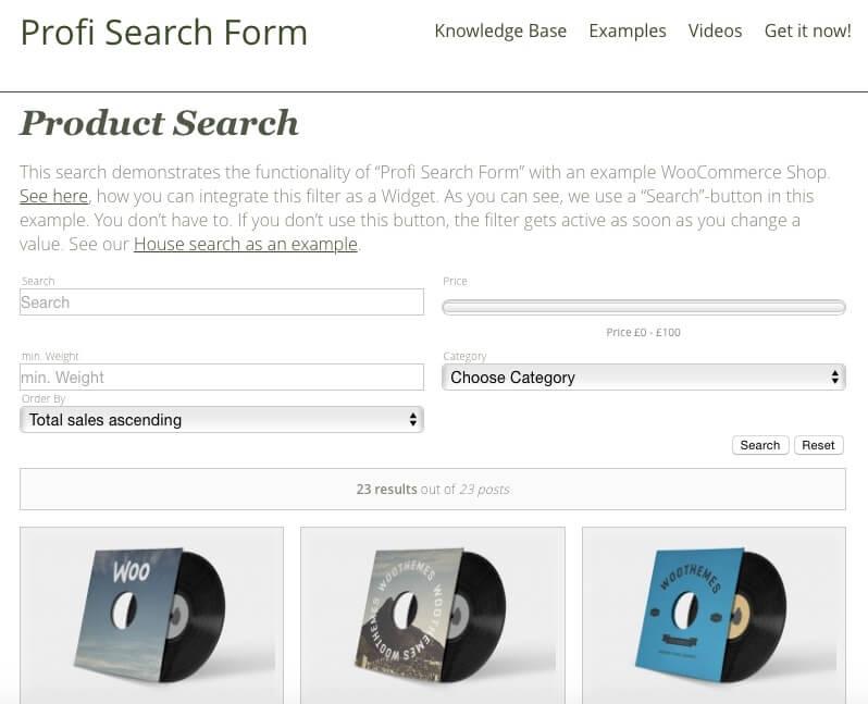 Profi Search Form ListWP Business Directory