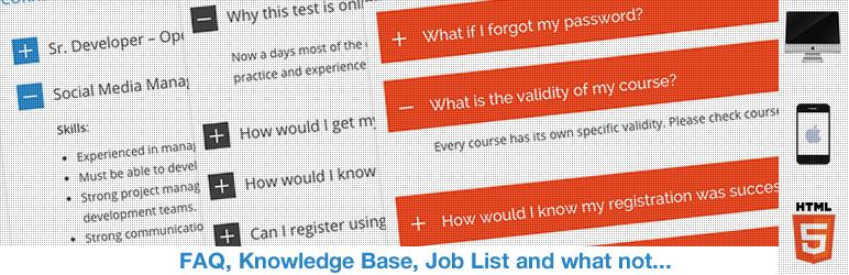 ListWP Business Directory HTML5 Responsive FAQ