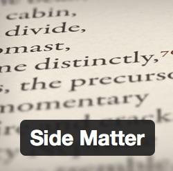 Side Matter